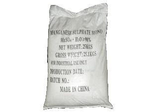 Manganese sulphate MnSO4.H2O 98%, Trung Quốc, 25kg/bao
