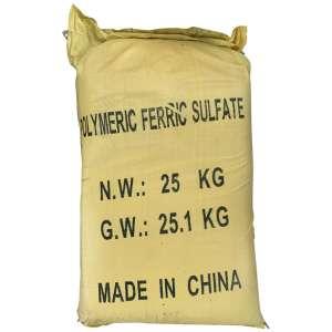 Polyme ferric sulphate (PFS), 25kg/bao, Trung Quốc