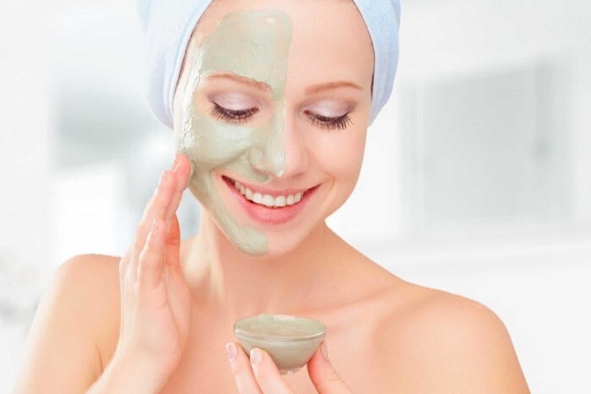 Làm mặt nạ dưỡng da từ bột đất sét