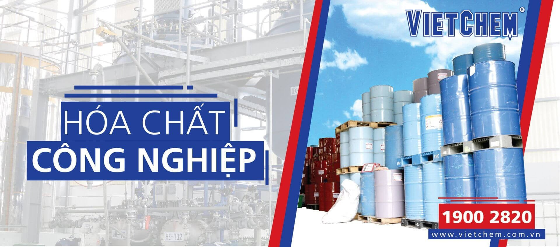 VietChem - Công ty cung cấp hóa chất bảo trì uy tín, chất lượng hàng đầu
