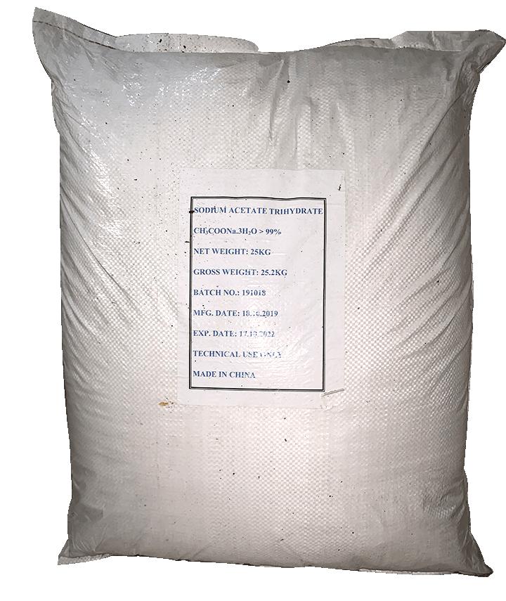 Sodium acetate CH3COONa.3H20