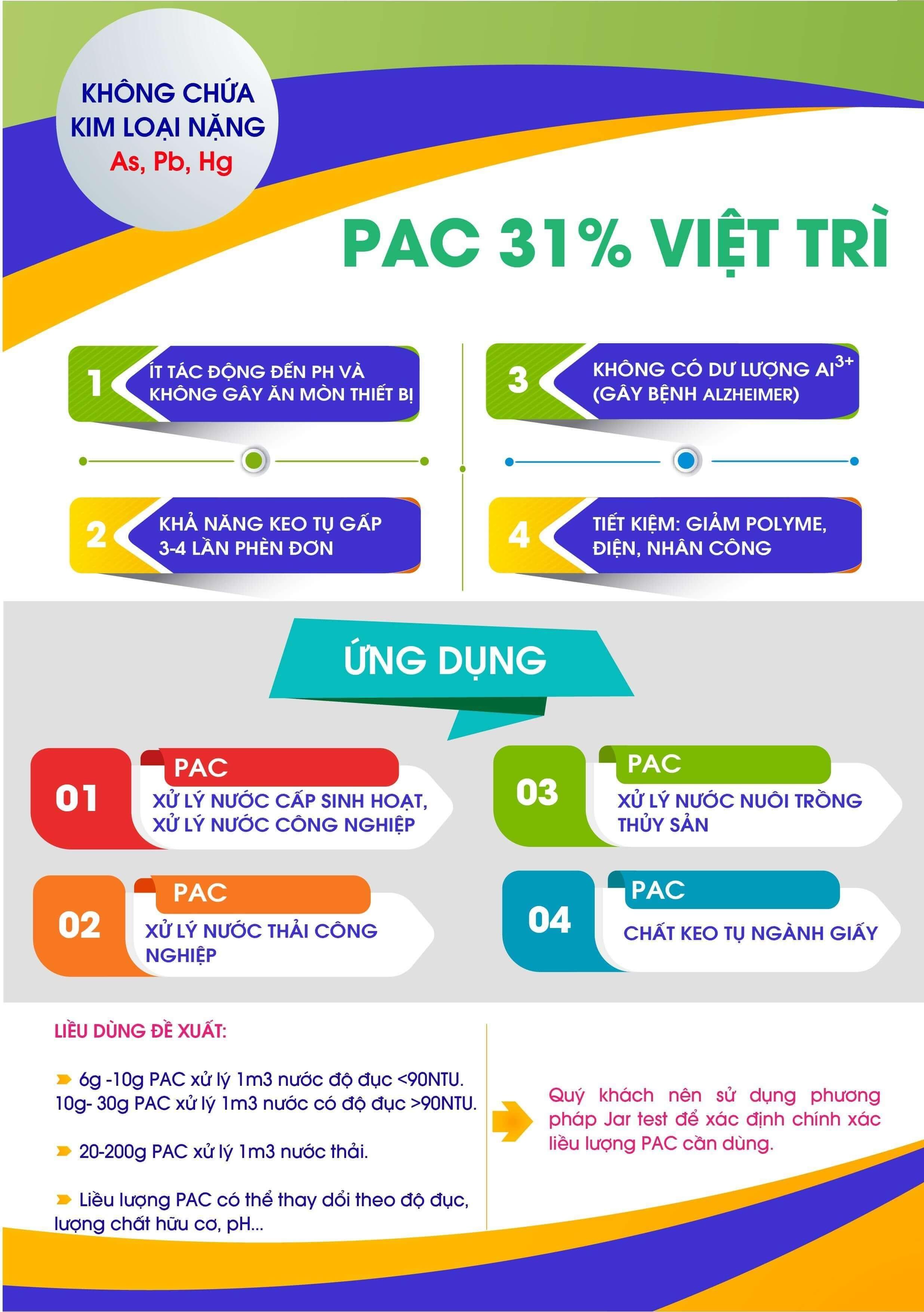Hóa chất PAC 31% 3
