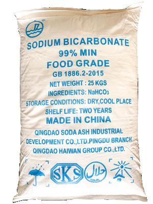 Sodium hydrogen cacbonate 99%, NaHCO3, Trung Quốc, 25kg/bao