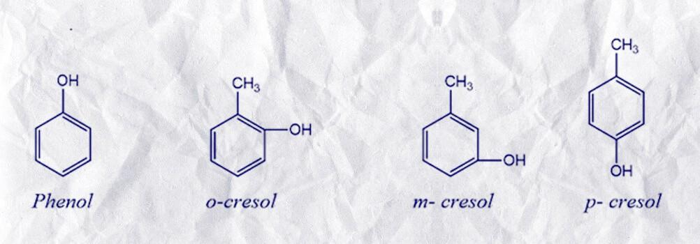 Tìm hiểu về cấu tạo của crezol