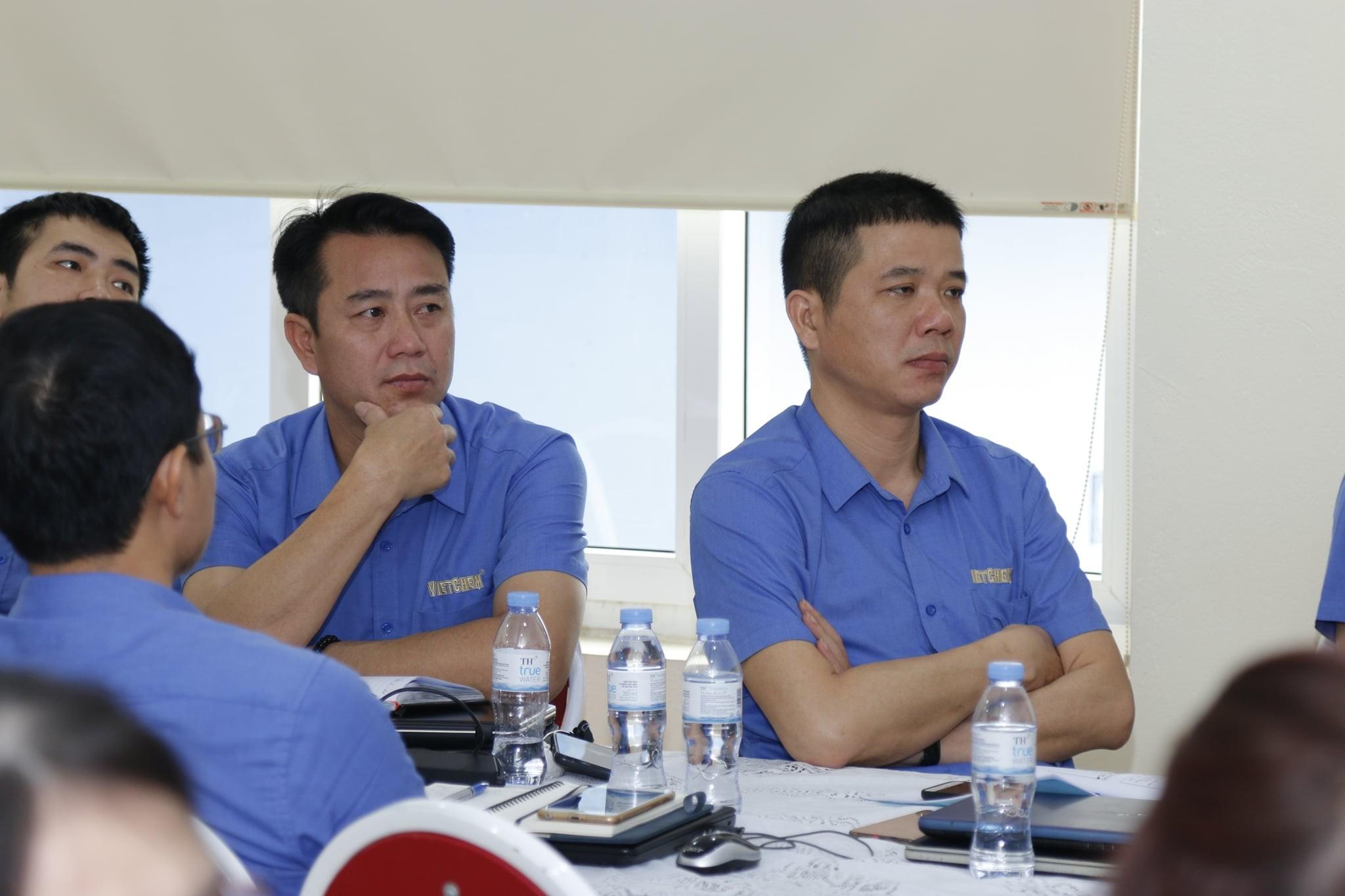VietChem tổ chức buổi đào tạo xây dựng mô tả công việc và khung năng lực cho CBQL 4