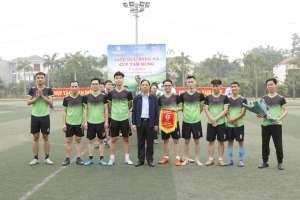 Ấn tượng giải bóng đá giao hữu Tam Hùng giữa ba công ty Việt Trì, VietChem, Vũ Hoàng