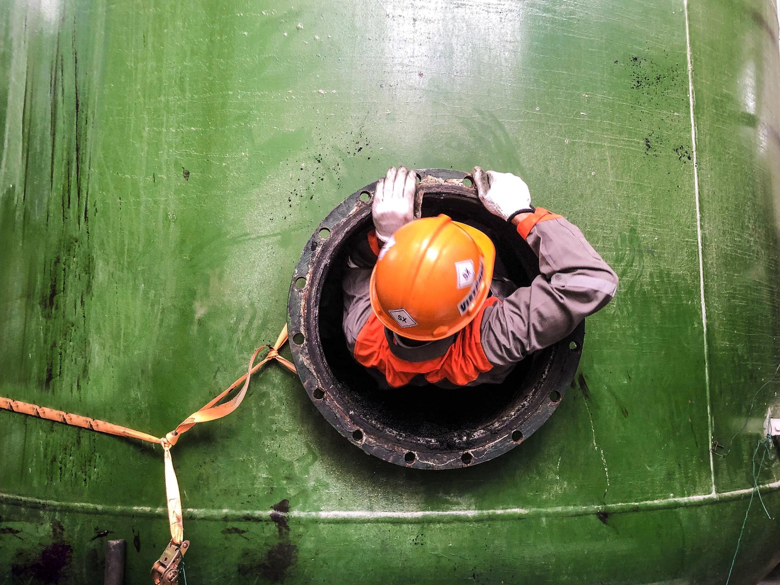 VIETCHEM tổ chức thay than cho hệ thống xử lý nước thải tại nhà máy MEIKO 2