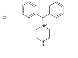 1-(Diphenylmethyl)piperazine, 97% 500g Acros