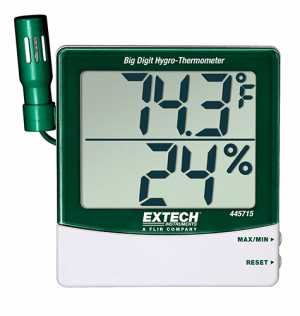 Nhiệt ẩm kế điện tử 445715 Extech