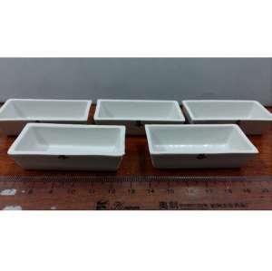 Đĩa sứ (thuyền sứ) chữ nhật 26*18cm Trung Quốc