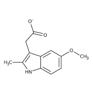 5-Methoxy-2-methyl-3-indoleacetic acid, 98% 1g Acros