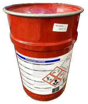 Potassium cyanide KCN 99%, Mỹ, 50kg/thùng