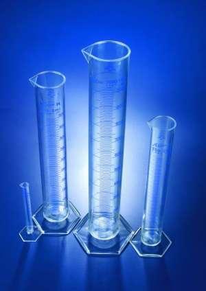 Ống đong nhựa PMP 25ml loại A Azlon Scilabware