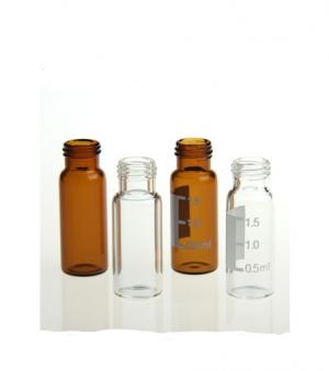 Chai vial trắng 1.5ml, 12x32mm, cổ vặn, ND8, không nắp Wheaton