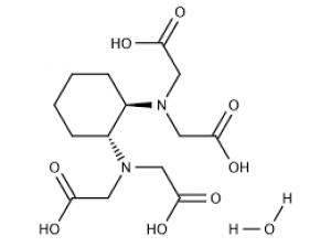 trans-1,2-Diaminocyclohexane-N,N,N',N'-tetraacetic Acid Monohydrate, 98% 25g Acros