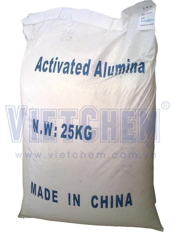Activated alumina (Nhôm hoạt tính), Trung Quốc, 25kg/bao