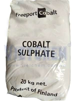 Cobalt sulphate heptahydrate CoSO4.7H2O 98%, Phần Lan, 25kg/bao