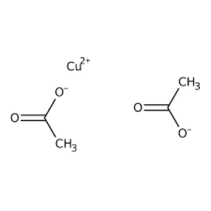 Copper(II) acetate monohydrate, extra pure, SLR 500g Fisher