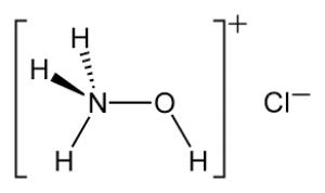 Hydroxylammonium chloride, 98+%, extra pure, SLR 500g Fisher