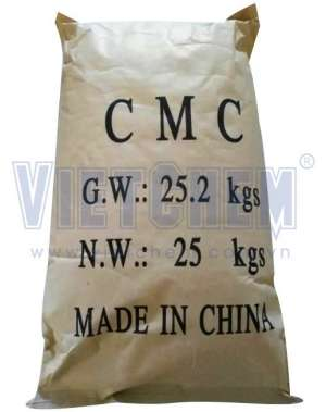Carboxymethyl cellulose (C.M.C) mặn, Trung Quốc, 25kg/bao