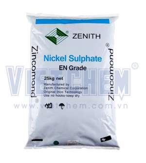 Nickel sulfate hexahydrate 98% NiSO4.6H2O, Đài Loan, 25kg/bao