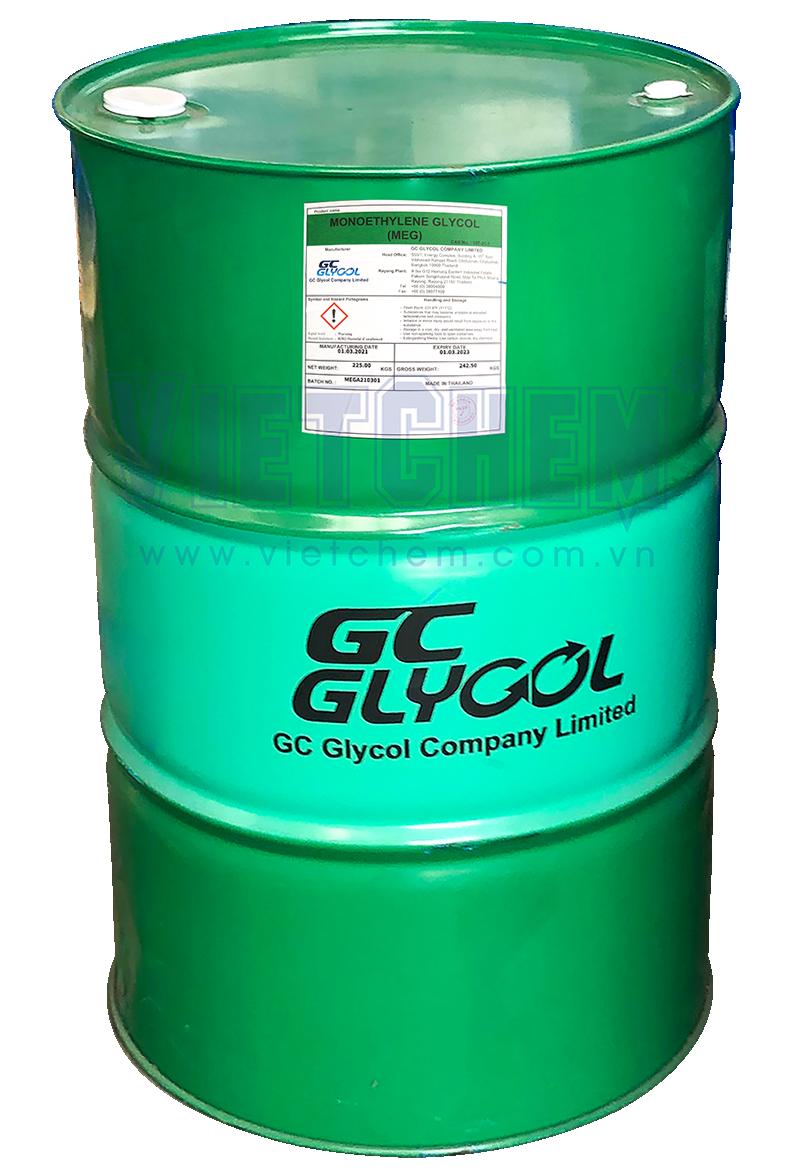 Mono ethylene glycol C2H6O2, Thái Lan, 225kg/phuy