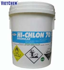 Hóa chất Calcium hypochlorite Ca(ClO)2 70% Nhật Bản | Chlorine Hi-Chlon