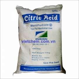Axit Citric C6H8O7.H2O 99,5% China