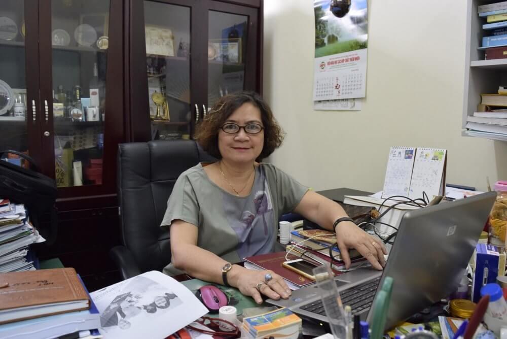 PGS.TS Lê Mai Hương hiện đang là Chủ tịch hội đồng khoa học của Viện Hóa học các Hợp chất thiên nhiên thuộc Viện Hàn lâm KH&CN VN.