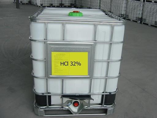 Axit HCl 32% được sử dụng phổ biến trong công nghiệp