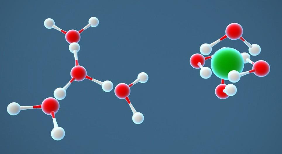 Axit Clohidric HCl hòa tan trong nước