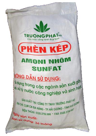 Amoni nhôm sunfat NH4Al(SO4)2