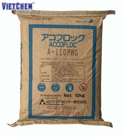 Chất trợ lắng PAM A110 (Polymer Anionic) xuất xứ Nhật Bản