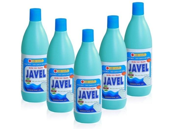 Tác dụng chính của nước Javel là tẩy màu và sát trùng