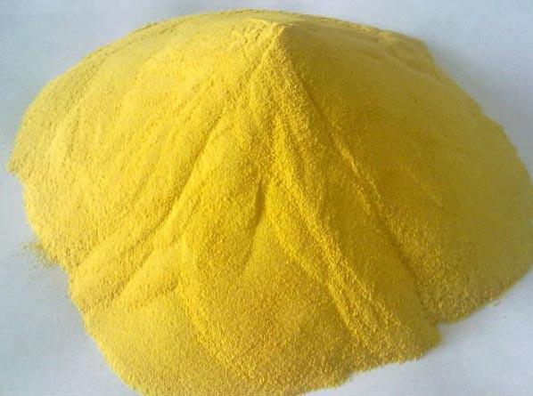 Hóa chất PAC 31% dạng bột màu vàng