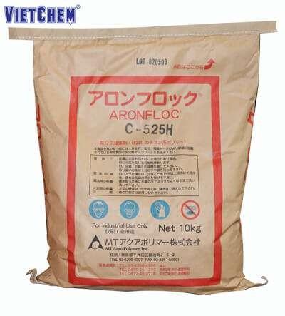 Hóa chất trợ lắng PAM C-252H, Xuất xứ Nhật Bản