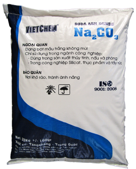 Sodium carbonate Na2CO3 99%, Trung Quốc, 25kg/bao
