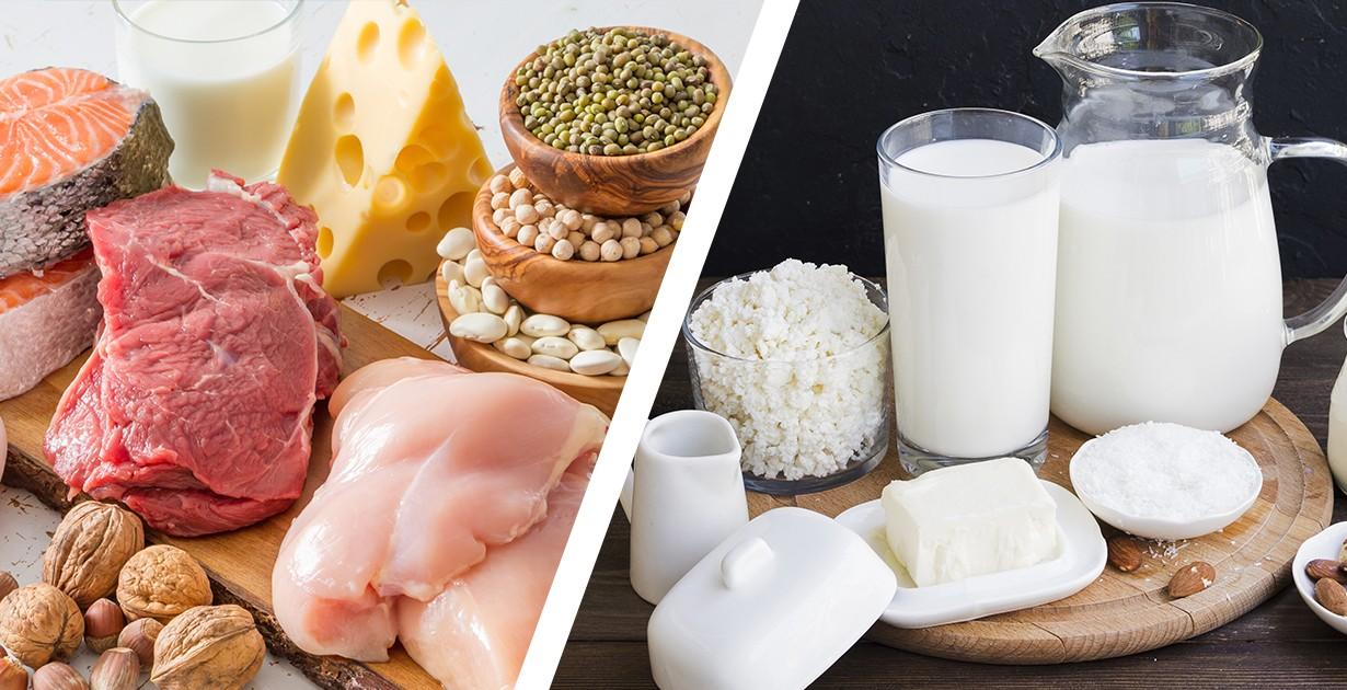Threonine có nhiều trong thịt và các sản phẩm từ trứng, sữa