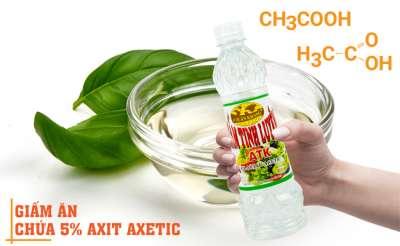 CH3COOH là gì? Các tác dụng quan trọng của axit axetic CH3COOH