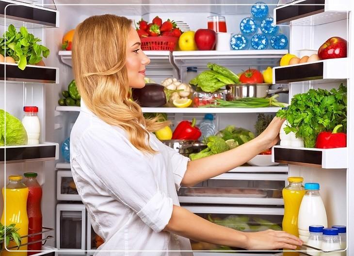Acid citric giúp khử mùi tủ lạnh hiệu quả
