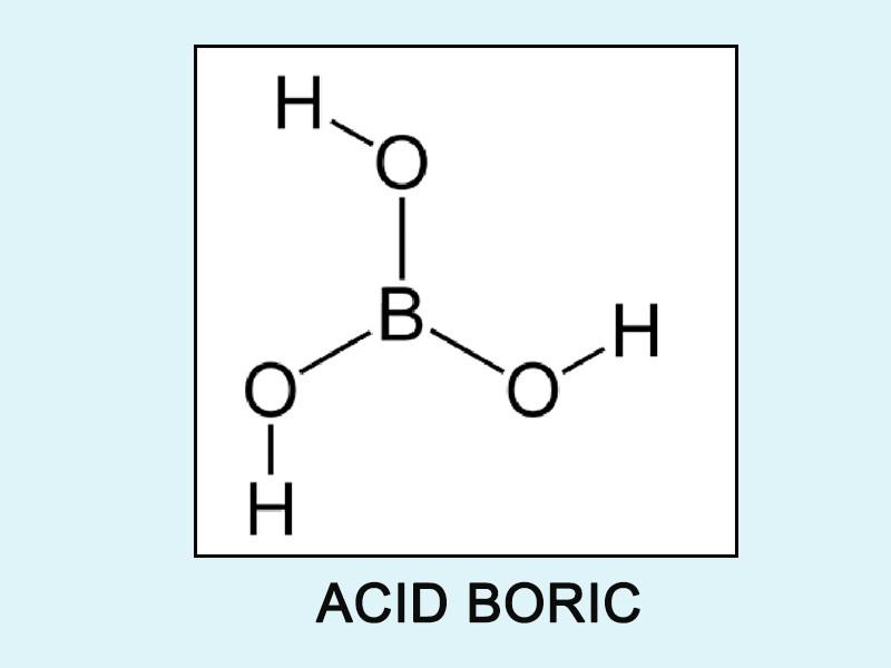 Acid boric là gì