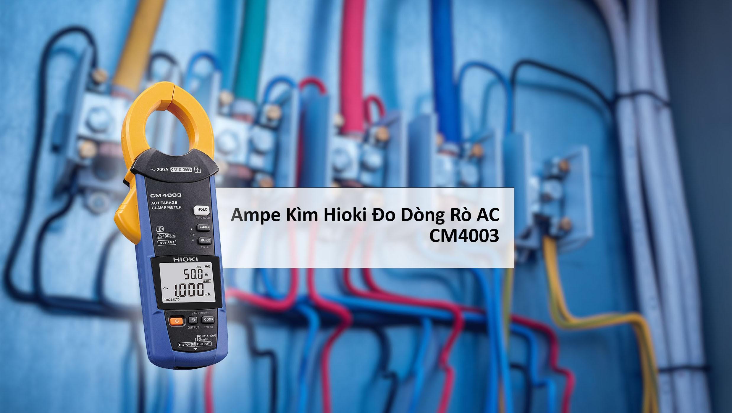 Ampe kìm là dụng cụ chuyên dùng để đo cường độ dòng điện