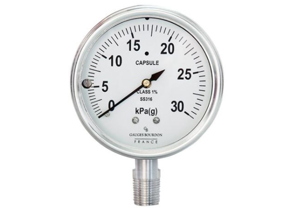 Có những thiết bị đo áp suất nào