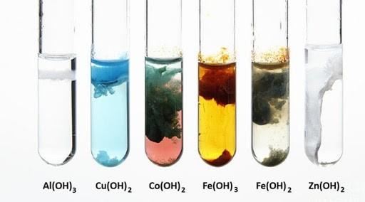 Màu sắc một số chất kết tủa thường gặp