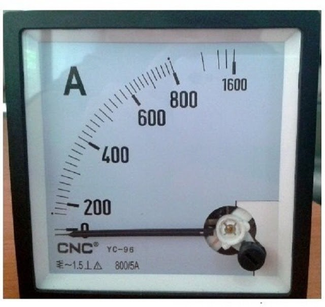 Ampe kế được sử dụng để đo cường độ dòng điện