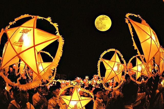 Tổ chức đêm hội trăng rằm