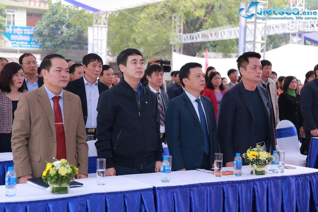 Vietsea tổ chức lễ khánh thành dự án trường THCS Thị trấn Yên Lạc- Vĩnh Phúc