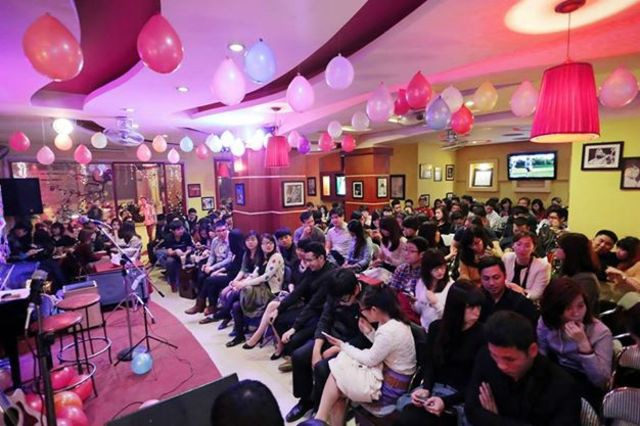 Tổ chức sự kiện tại quán cà phê ở Hà Nội