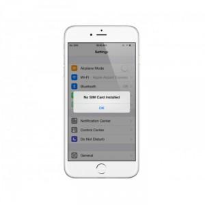 Sửa iPhone 6 không nhận sim