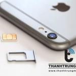 Sửa iPhone không nhận sim